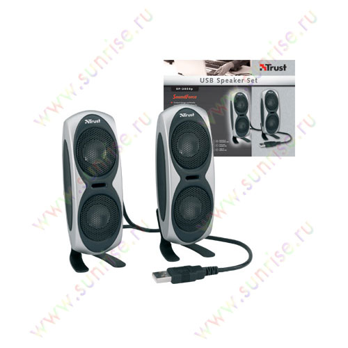Колонки 2.0 Trust Set SP-2850p/2012USB Soundforce (Bulk)