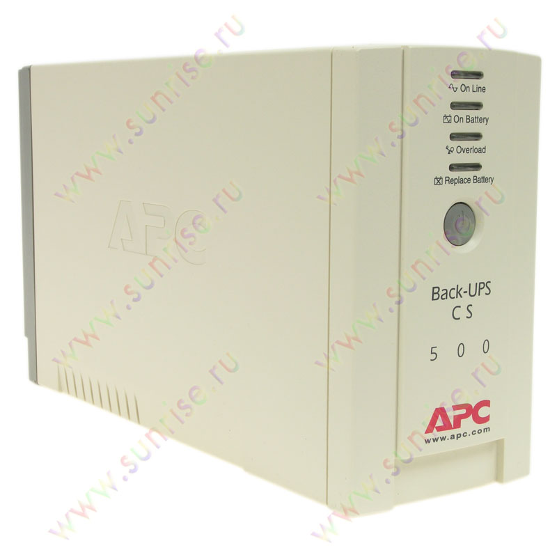 ИБП APC Back-UPS CS 500 (BK500-RS)