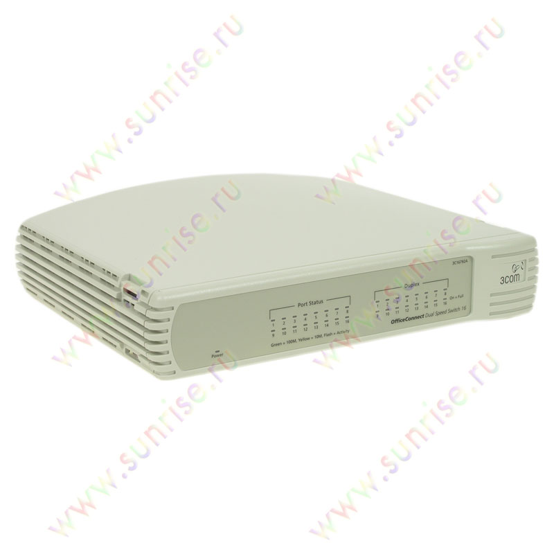 Коммутатор 3COM 16792A-ME OfficeConnect Dual Speed Switch 16 ports