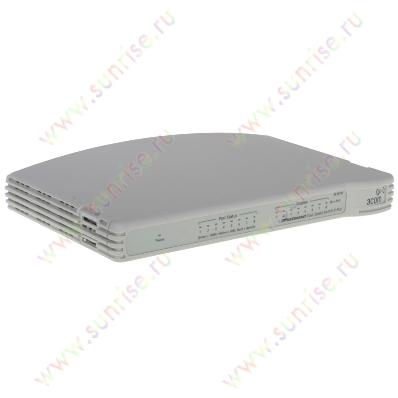 Коммутатор 3COM 16791A-ME OfficeConnect Dual Speed Switch 8 ports