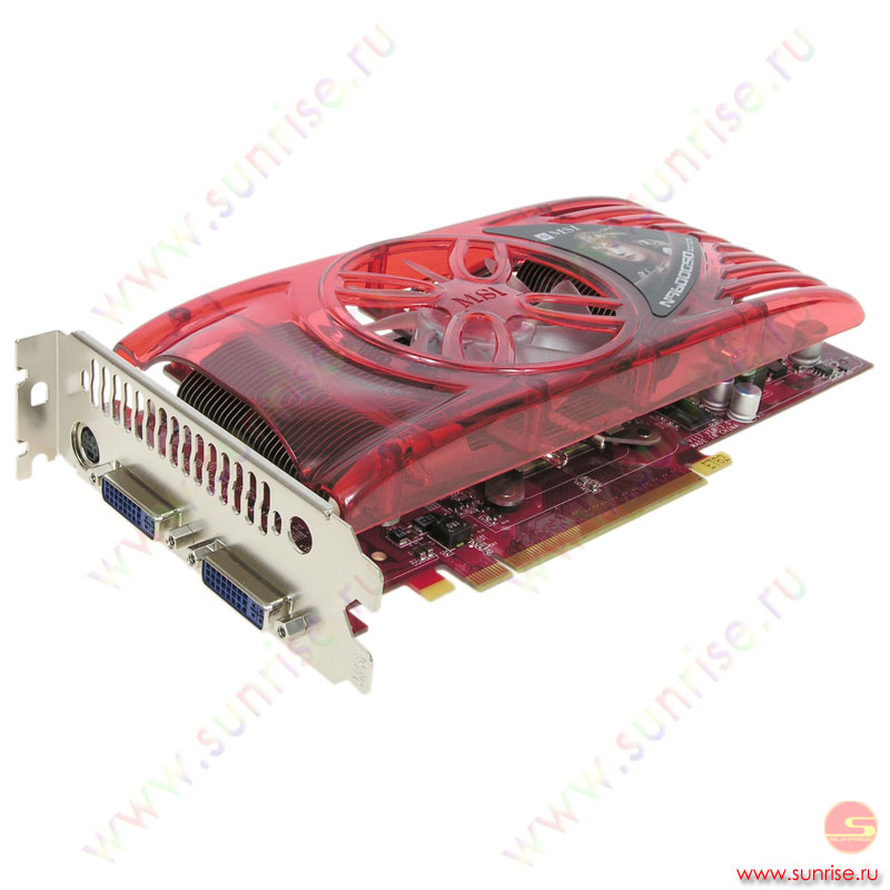 384Mb PCI-E GeForce 9600GSO DDR3, TV, 2xDVI, MSI N9600GSO-T2D384-OC, retail