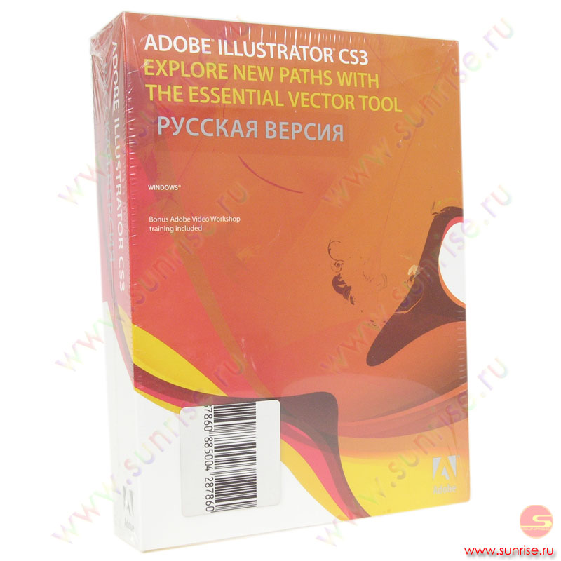 Adobe ILLUSTRATOR CS3 FULL RU ( ILCS3RUW)