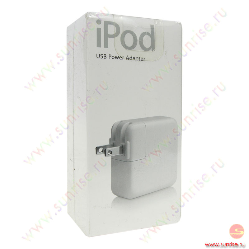 Apple iPod USB Power adaptor M9837ZM/A