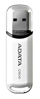 Носитель информации PenDrive 16Gb, USB2.0 A-Data C906 white