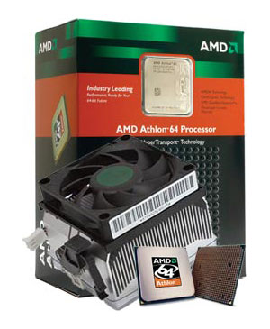 CPU AMD Athlon 64 3000+  Winchester  (ADA3000DIK4BI) Socket-939 BOX