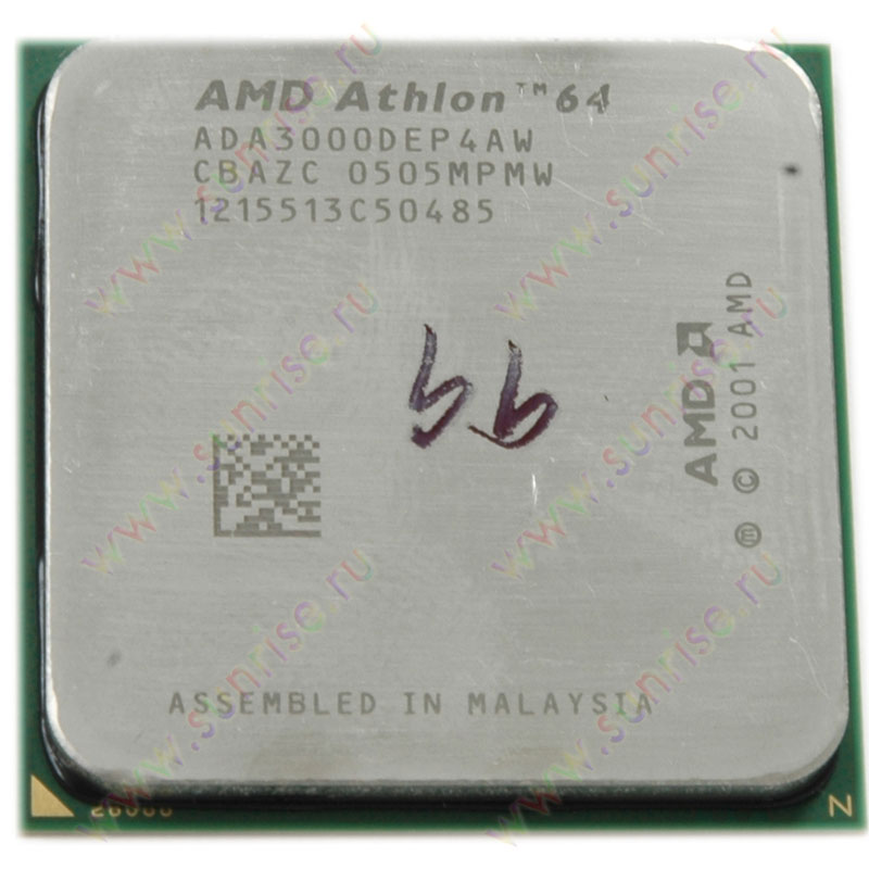 CPU AMD Athlon 64 3000+ Newcastle (ADA3000DEP4AW) Socket-939 OEM