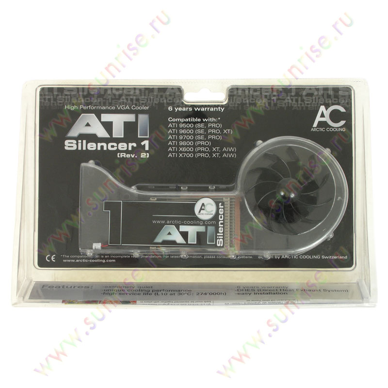 Arctic Cooling ATi Silencer 1 rev.2