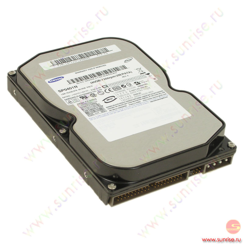 040,0 Gb HDD Samsung (SP0411N/SP0401N) 7200 2Mb