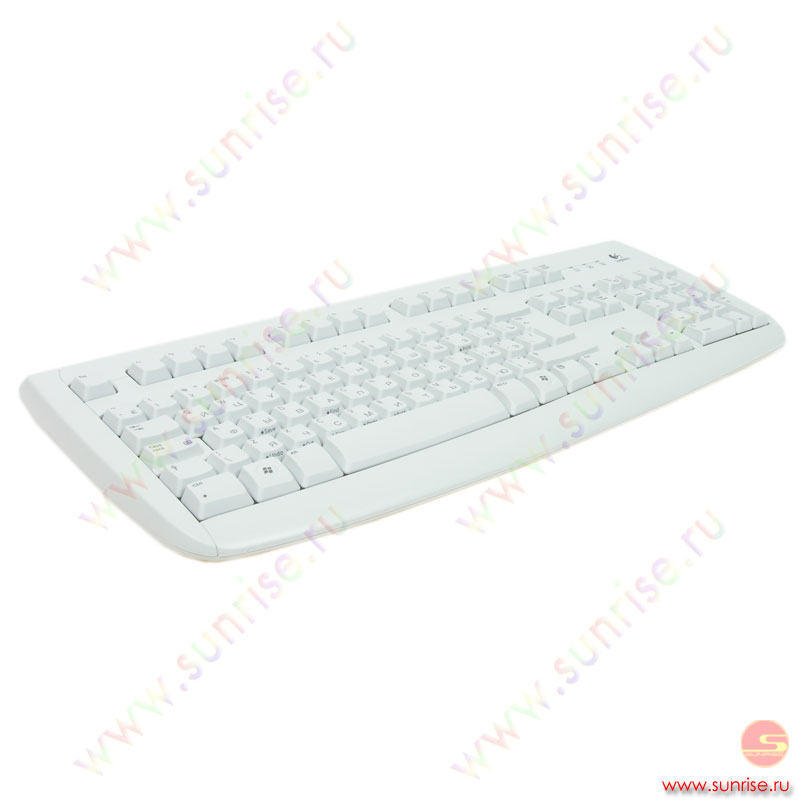 Клавиатура Logitech Deluxe 250 (967641-0112) sea grey, PS/2
