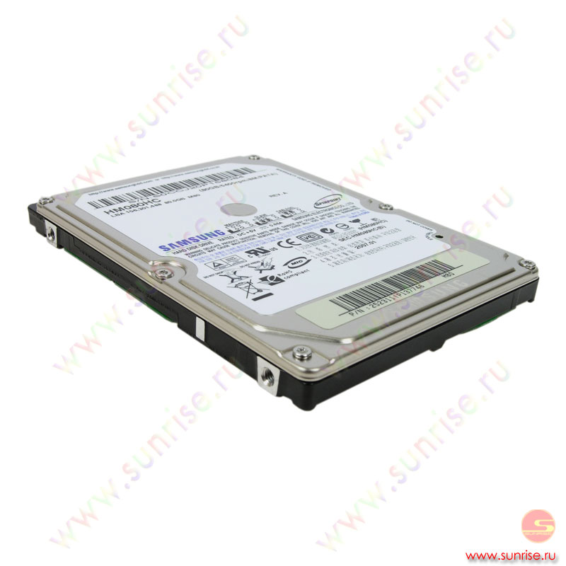 080,0 Gb HDD Samsung (HM080HC/HM080GC) SpinPoint 5400rpm 8Mb 2.5""
