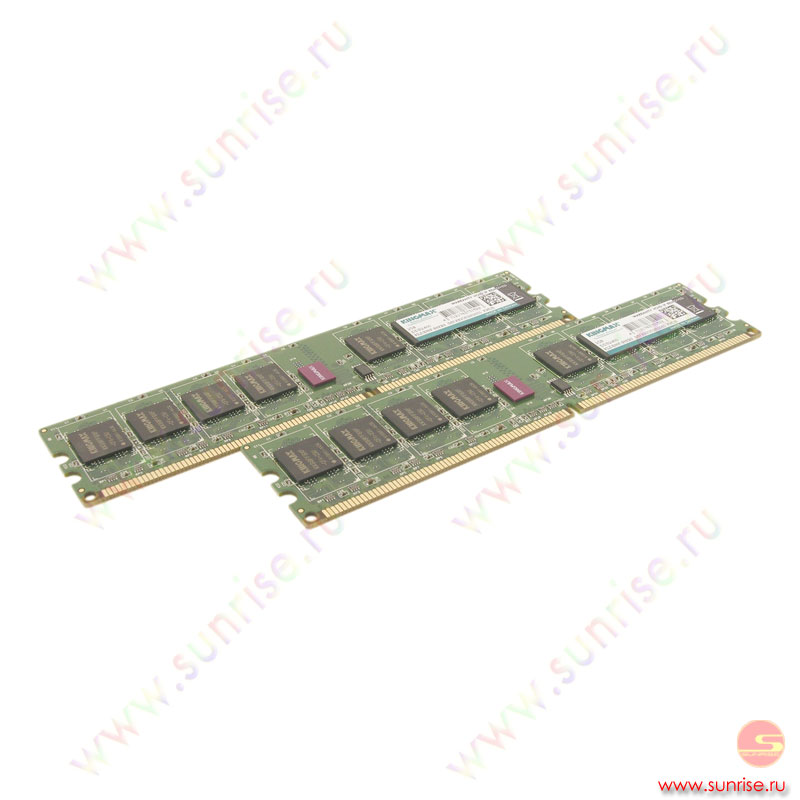 2xDIMM  2048Mb  PC2-6400(800Mhz) Kingmax