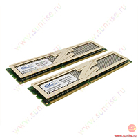 2xDIMM 1024Mb  PC3-10666(1333Mhz) OCZ Gold Series [OCZ3G13332GK] 9-9-9-26