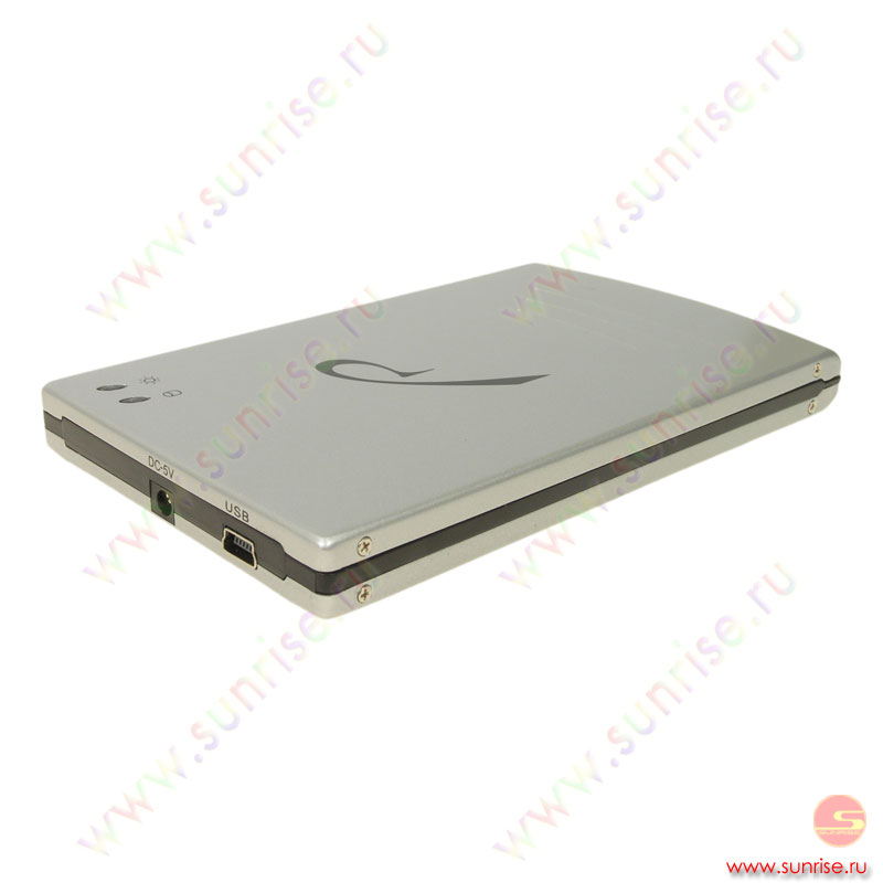 "080,0 Gb HDD Rovermate Cobble 5400 (ext. USB 2.0) 2.5"" (Drivemate-005) silver"