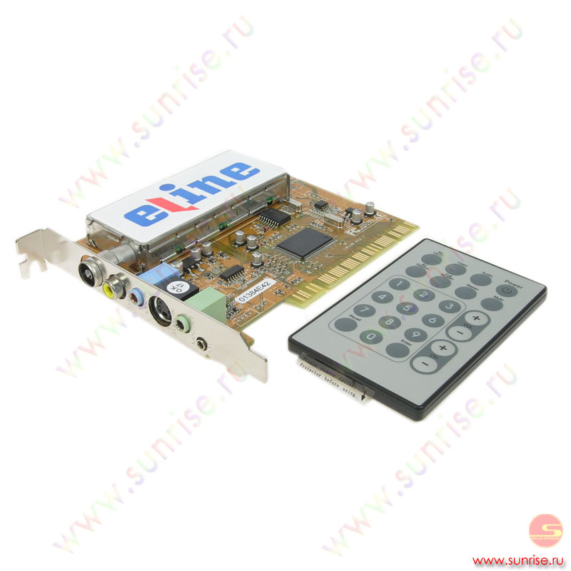 TV Tuner  Eline ELV-TVM3000 TV-Master 3000 [стерео NICAM ,Телетекст,пульт]