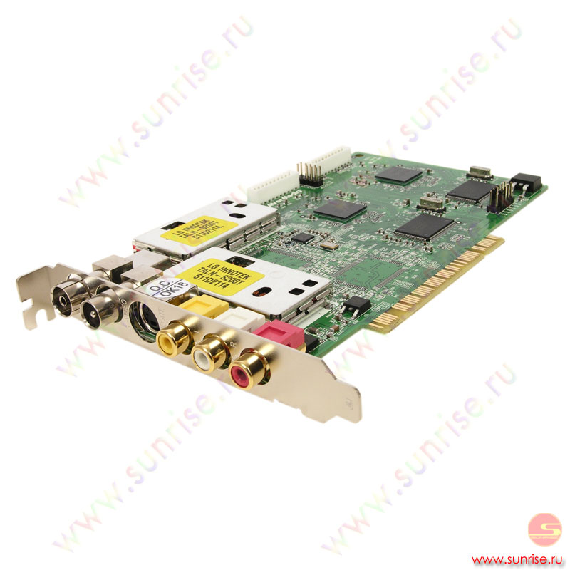 TV Tuner AVerMedia TV A169(Dual tuner PCI, Hardware Compression, w/o RC, MCE Certified ,OEM)