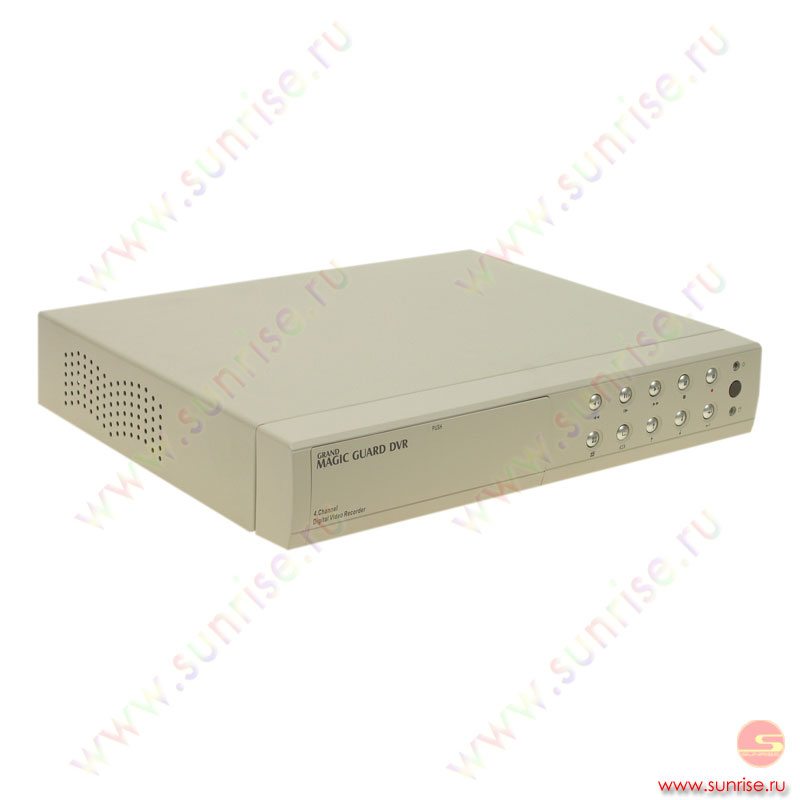 Grandtec Magic Guard DVR Model 3, цифровой регистратор, 4+1 port, 2 HDD, MJPEG/ H.264 , 25к/c, LAN