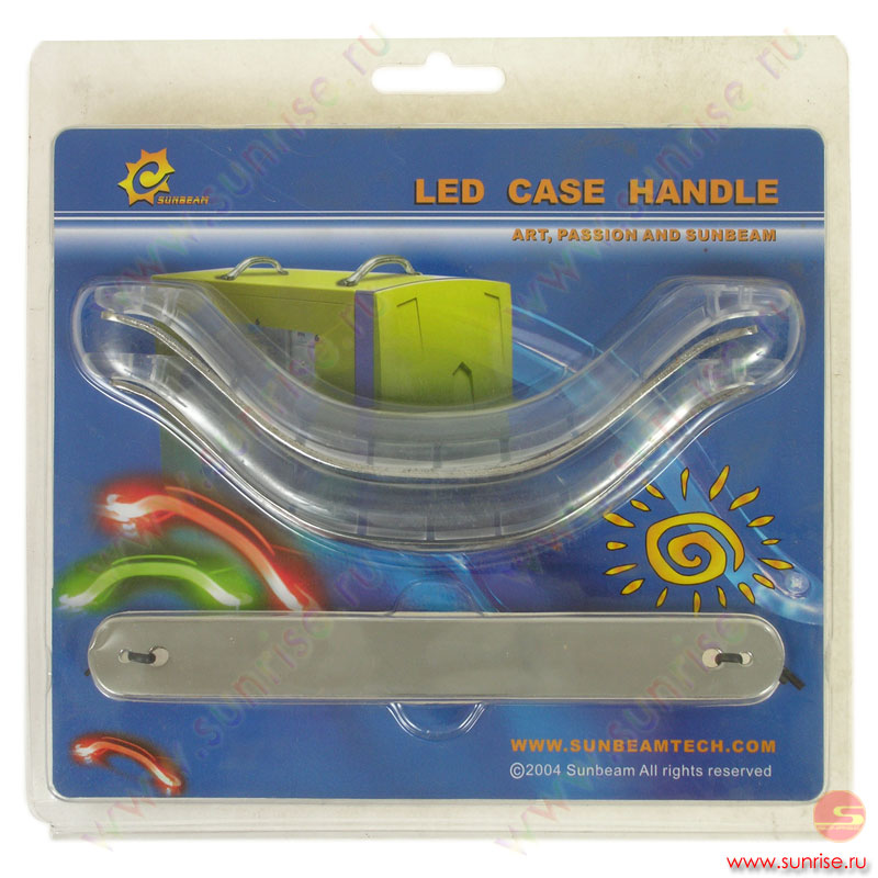 SB Led Case handle Clear-Green