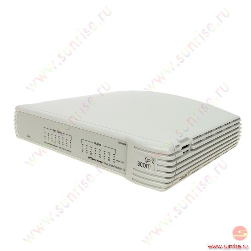 Коммутатор 3COM 16792B-ME OfficeConnect Dual Speed Switch 16 ports