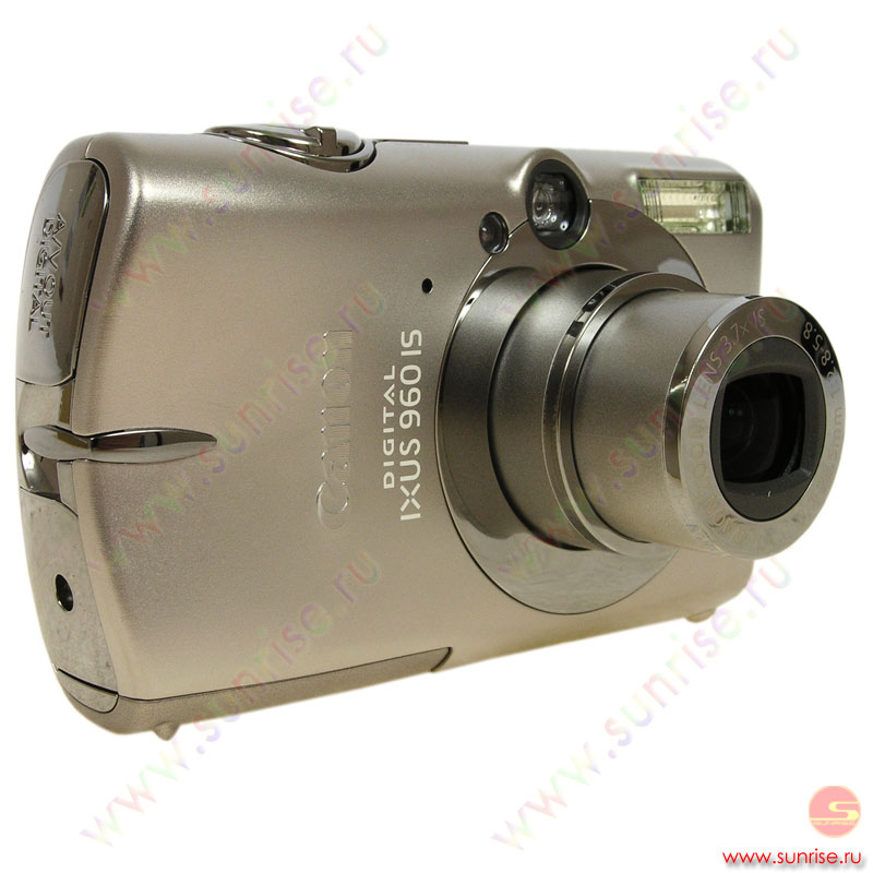 "Фотоаппарат Canon IXUS 960 IS  (12.1Mpx, 2.5""LCD, 3.7xZoom, 36-133мм, f2.8-5.8, SDHC, USB, AV-out)"